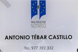 Notaría Vila-seca Antonio Tébar Castillo