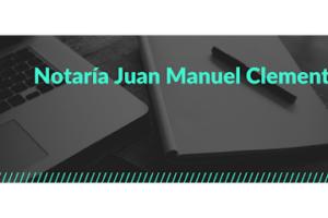 Notaría Juan Manuel Clemente