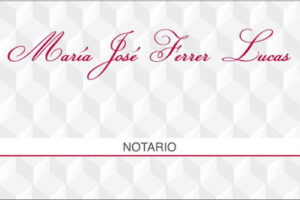 Notaría María José Ferrer Lucas