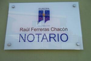 Notaría Raúl Ferreras Chacón